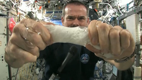 A Wet Towel In Space Is Not Like A Wet Towel On Earth : NPR | Astronomy News | Scoop.it