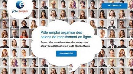 Pôle emploi propose des salons de recrutement en ligne - Orientation pour tous | Ressources humaines 2.0 | Scoop.it