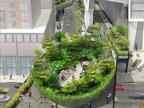 immersive green bowl proposed for the high line's final phase | Super typhoon | Scoop.it