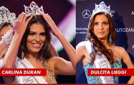 Miss Dominican Republic Carlina Duran DETHRONED ... Over Secret Marriage | TonyPotts | Scoop.it
