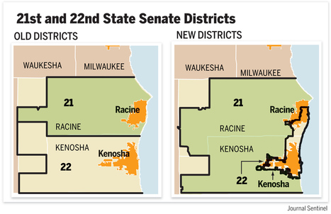 Op-Ed: Redistricting in Wisconsin | Human Geography Too | Scoop.it
