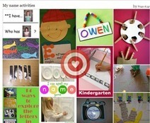 Pinterest : My name activities | Creating and learning with children | Scoop.it