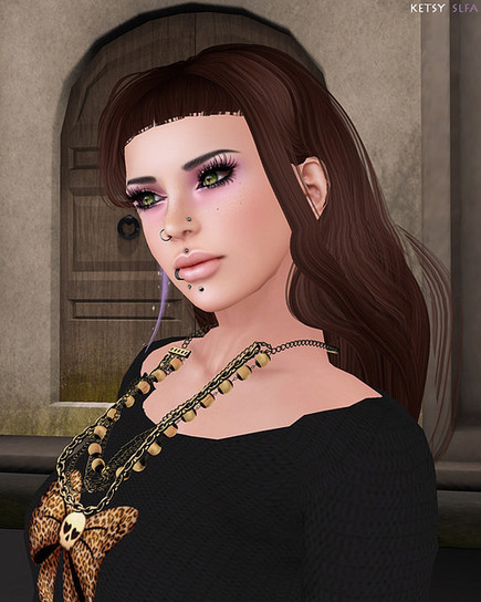 Second Life Fashion Addict: Hair Fair - A Hipster With The Blues | SL Fashion Addicts Anonymous | Scoop.it