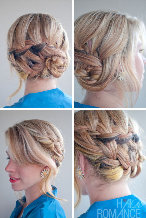 Braided Hairstyle Inspirations: The Double Waterfall Braid Updo | Hairstyles Weekly | Beautiful Fashion | Scoop.it