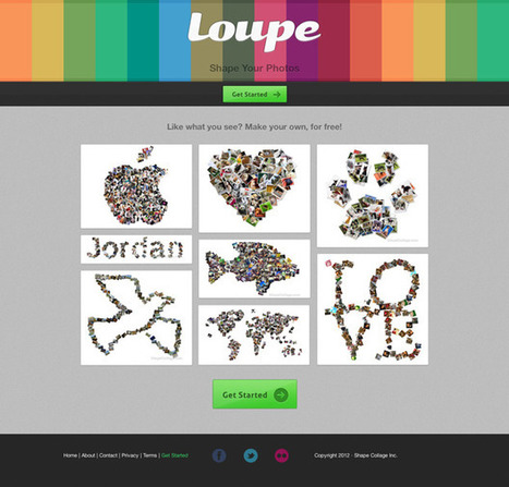 Online Collage Generator to Shape Your Photos   Design Marketing Advertising Free Tips   Emerging Learning Technologies   Scoop.it