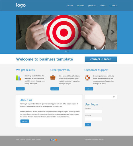 Design a Drupal Business Theme in Photoshop | Time to Learn | Scoop.it
