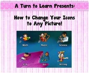 A Turn to Learn: How to Make Any Picture Into an Icon! | Technology, Education, Librarianship | Scoop.it