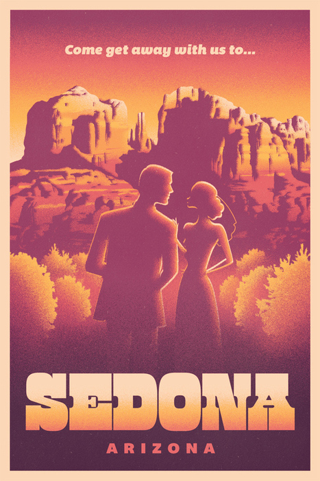 30 Cool Vintage Travel Posters | inspirationfeed.com | Webdesign Glance | Scoop.it