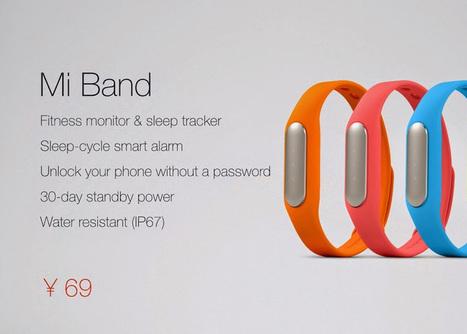Le Mi Band de Xiaomi, un bracelet connecté pour 13$ ! | Quantified Self and Internet of Things | Scoop.it