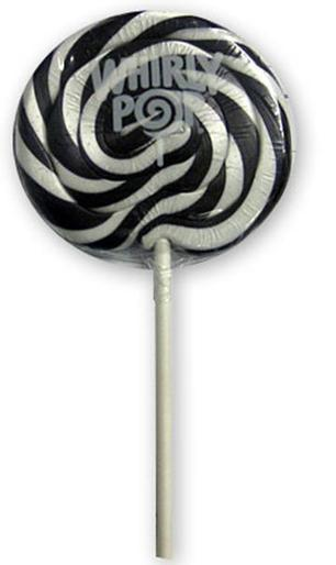 Black and White Swirl Pops | The Candyland Store | Scoop.it
