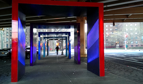 Brooklyn Installation Turns Traffic Noise Into An Exuberant Light Vista | The Creators Project | ARDUINO pour les grands débutants | Scoop.it