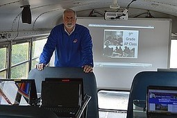 Mitchell County School System turns school bus into mobile classroom | Georgia Broadband Center | Scoop.it