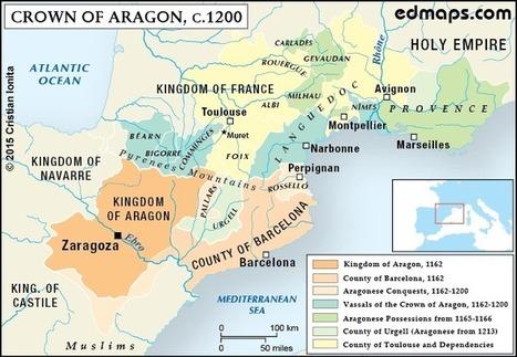 De Carlemany a Puigdemont: set mapes canadencs per a entendre els motius històrics de l'independentisme català | Recursos de Geografia | Scoop.it
