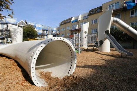 Wikado Playground is Built From Recycled Wind Turbine Blades in The Netherlands | Eolien en bref | Scoop.it