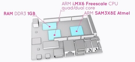 Arduino-compatible, quad-core ARM dev board | Raspberry Pi | Scoop.it