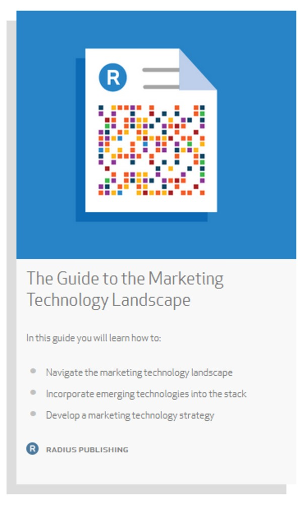 The Guide to the Marketing Technology Landscape - Radius | The Marketing Technology Alert | Scoop.it