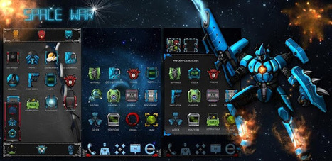 SpaceWar GO LauncherEX Theme - v1.0 APK - AndroTreasure | Android Paid Apps Download. | Scoop.it