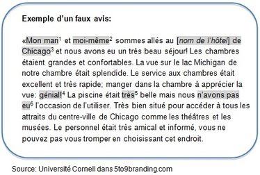 Les Faux Avis en Ligne : Peut-On les Détecter? | WebZine E-Commerce &  E-Marketing - Alexandre Kuhn | Scoop.it