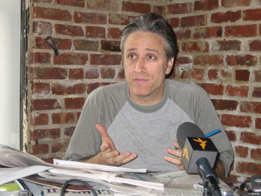 Jon Stewart On Political Satire In A Free And Democratic Society