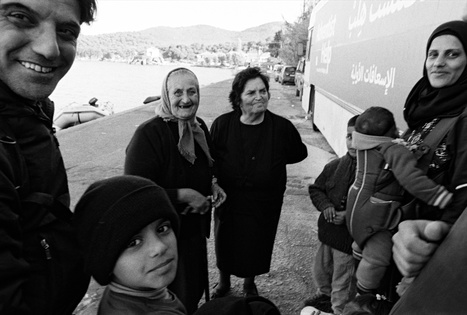 Every day Efstratia and Irini take a walk along the beach - Legacy of War | Refugees and Displaced Peoples | Scoop.it