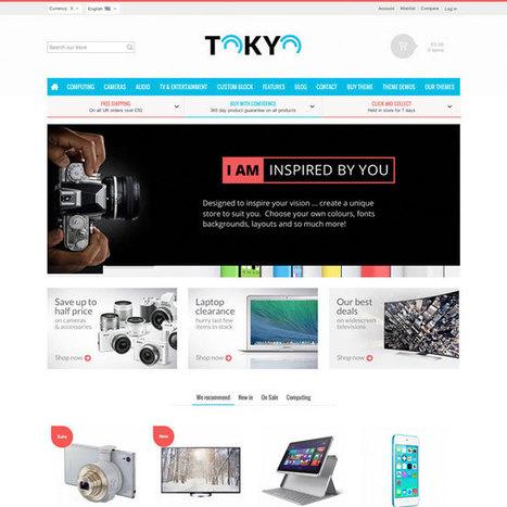 Tokyo Prestashop Theme | Prestashop Theme Download | Best Prestashop Themes | Scoop.it