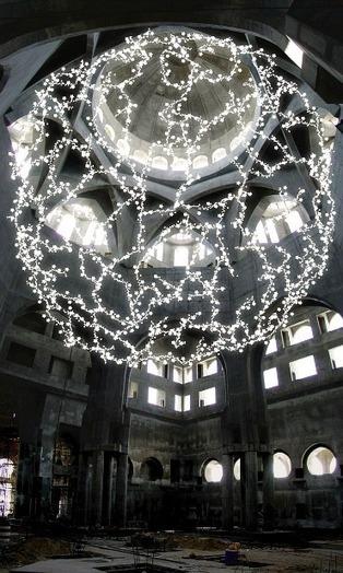 Tord Boontje, Abu Dhabi, lighting proposal (2003) | Victor, guide touristique a Dubai et dans les Emirats arabes unis pour des visites privées et sur mesure en français. | Scoop.it