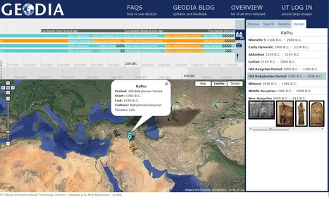 Geodia - A Timeline and Map of Mediterranean Archeology and Culture | Time to Learn | Scoop.it