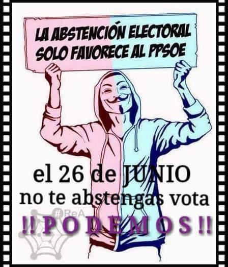 CNA: VOTAR o NO VOTAR El sorpasso al PP depende solo de nuestro voto... la Abstención SOLO favorece a la Casta | La R-Evolución de ARMAK | Scoop.it