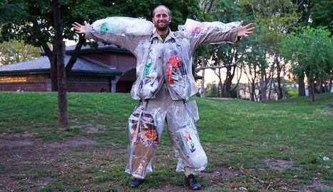 Un homme va transporter pendant 30 jours tous ses déchets   Veille positive de l'actualité durable et de la nouvelle consommation   Scoop.it