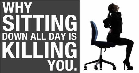 What Makes Sitting So Detrimental to Your Health? | Finding A Career Path | Scoop.it