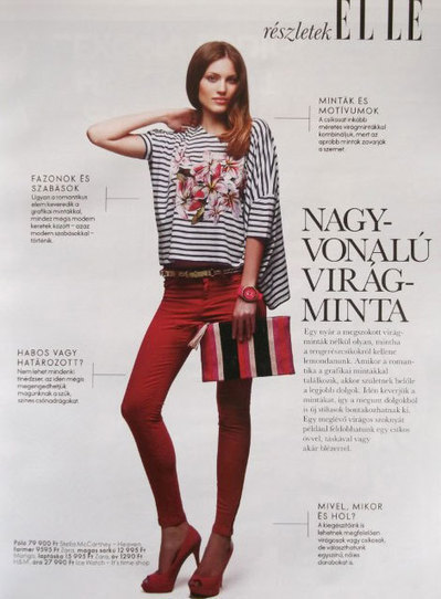 Judit for Elle Hungary - Sapphires Model Management Blog | Model agency London | Scoop.it