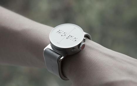 La première montre braille connectée | Gestion des risques et accessibilité | Scoop.it