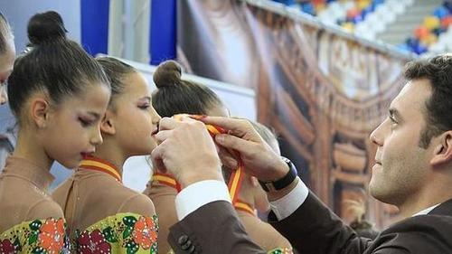 Lleno total en el Palacio Multiusos por el Campeonato Nacional de Gimnasia Rítmica