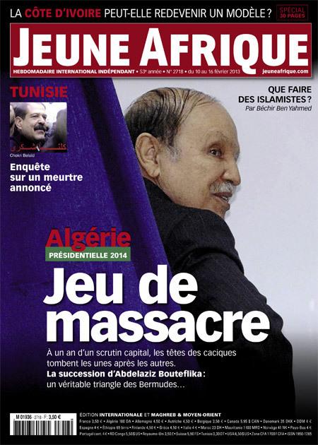 Présidentielle 2014: jeu de massacre | L'Algérie et la France | Scoop.it