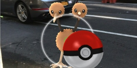 Playing 'Pokémon GO' gives new meaning to go play outside!   Digital Transformation of Businesses   Scoop.it