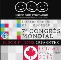 Le Congrès mondial de l'Internationale de l'Éducation réunira 2 000 personnes à Ottawa - Presse-toi à gauche ! | nihalabitiu | Scoop.it