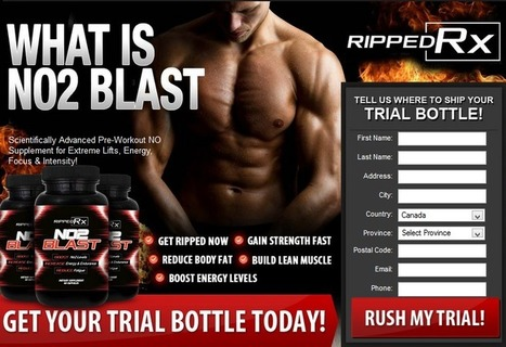 Ripped RX NO2 Blast Review - Get Your Trial Bottle HERE!!! | dolldiva kay | Scoop.it
