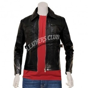 Brad Pitt as Achilles Troy Movie Black Leather jacket | Movie Jackets | Scoop.it