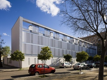Seville University Residence Hall / Donaire Arquitectos + SSW Arquitectos | architecture&design | Scoop.it