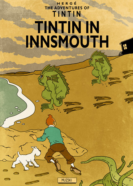 Tintin et Lovecraft | Glanages & Grapillages | Scoop.it