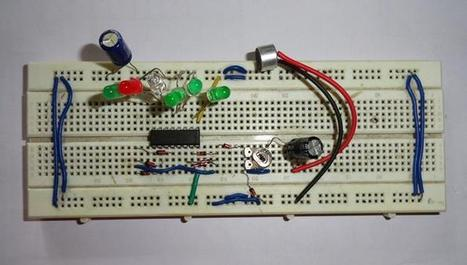 Music Operated LED: Circuit Diagram | Daily Magazine | Scoop.it