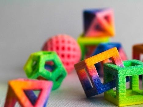 Innovative 3D Food Printers Create Edible Geometric Forms | Cyborg | Scoop.it
