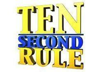 10 Second Rule can it change your life? - Wendy Cooley, LMSW   Market and self improvement   Scoop.it