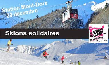 Skiez pour les Restos du Coeur au Mont Dore vendredi 20 décembre 2013 | Location de Ski en France | Scoop.it