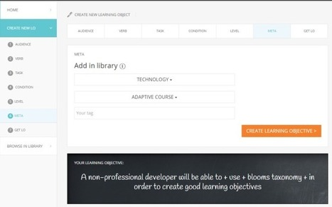 Easygenerator launches free tool for creating learning objectives | APRENDIZAJE | Scoop.it