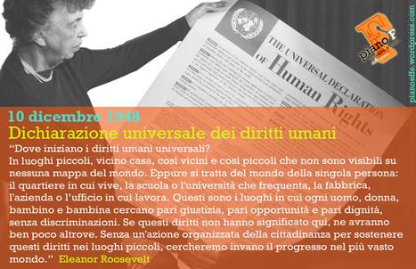 Eleanor Roosevelt e la Dichiarazione dei diritti umani del 10 dicembre 1948 | F News | Scoop.it