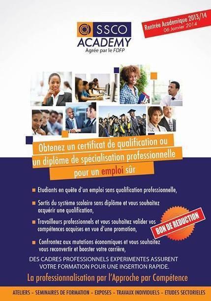 SSCO, pour des cadres compétents pour faire face aux défis de l'émergence. | CAEXI Expertises | Scoop.it