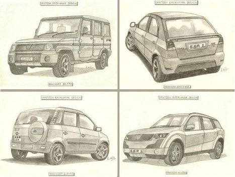 Illustration Special: 5 Sketches Mahindra Must See | Drivespark Automobile News | Scoop.it