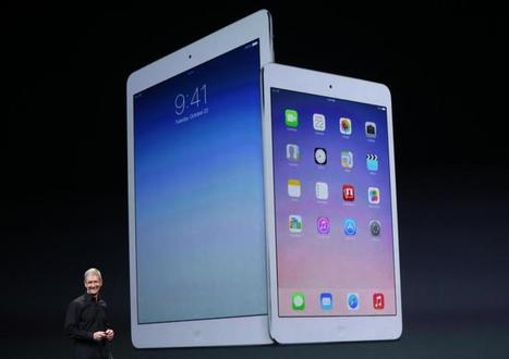 Apple iPad Air Vs. Retina iPad Mini '2': Which New Release Is Right For You | Life @ Work | Scoop.it