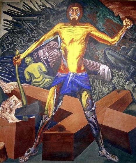 José Clemente Orozco - Cristo distrugge la sua croce | Capire l'arte | Scoop.it